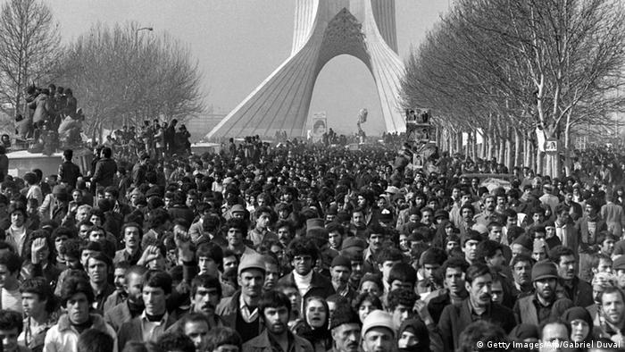 Ayatollah Khomeini - islamische Revolution (Getty Images/Afp/Gabriel Duval)