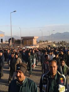 کارگران اعتصابی معدن چادرملو در اردکان