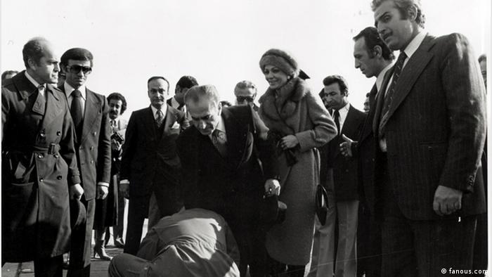 Schah Reza Pahlavi verlässt den Iran am 16. Januar 1979 (Foto: fanous.com)