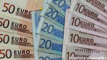Deutschland Steuereinnahmen Banknoten