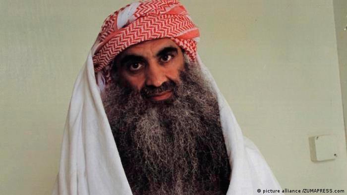 Khalid Sheikh Mohammed at Guantanamo in 2014