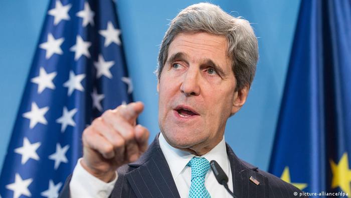 US-Außenminister John Kerry in Berlin 31.01.2014