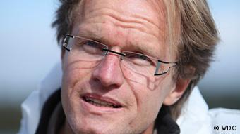 El bióogo marino Karsten Brensing.