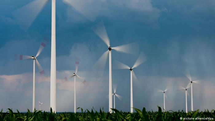 Windräder bei Frankfurt/Oder