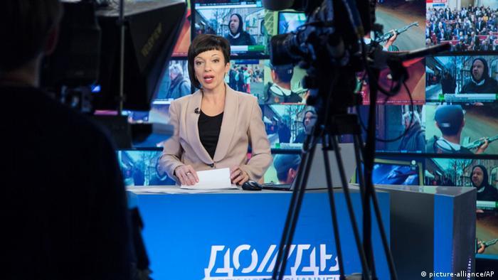 В студії телеканалу Дождь