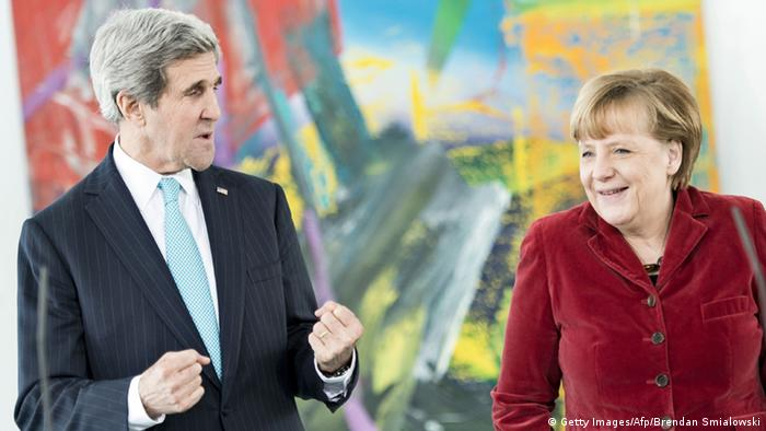 US-Außenminister John Kerry in Berlin 31.01.2014