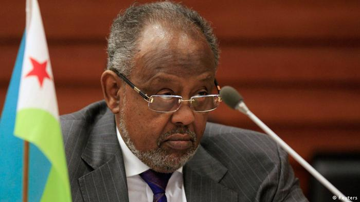 AU-Gipfel in Addis Abeba, Äthiopien, 31.01.2014 Ismail Omar Guelleh