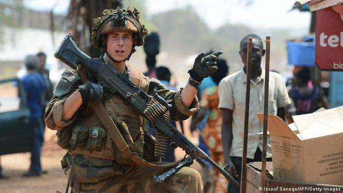 French Soldier, Central African Republic, 30.1.2014