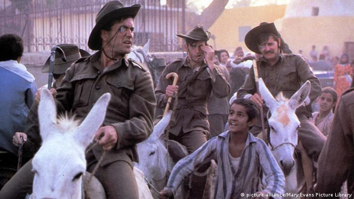 Кадр из фильма ''Gallipoli''