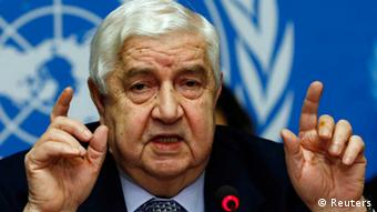 Walid al-Muallem (photo: REUTERS/Denis Balibouse)