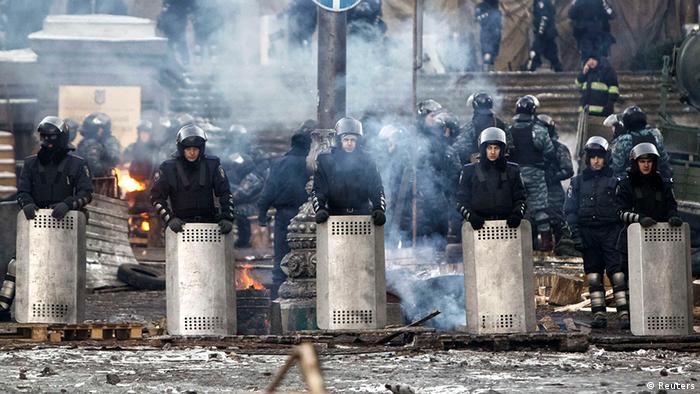 Kiew Ukraine Protest Unruhen