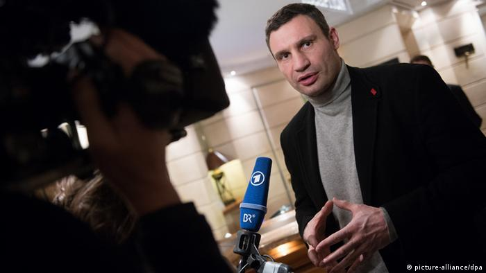 Vitali Klitschko la Conferința de Securitate de la München
