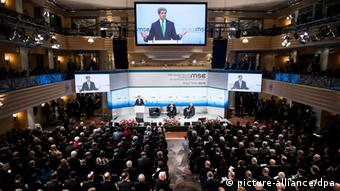 John Kerry speaks at the Munich Security Conference 2014