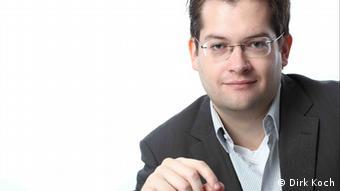 Andreas Jungherr, Politikwissenschaftler an der Universität Bamberg (Foto: Dirk Koch)
