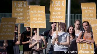 Hebammen-Protest in Berlin (Foto: dpa)
