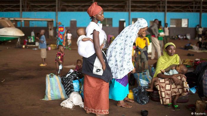Zentralafrika Bangui Flüchtlinge 30.01.2014 (Reuters)