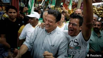 Johnny Araya im Wahlkampf (Foto: REUTERS)