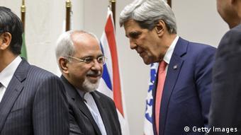 München - Sicherheitskonferenz Javad Zarif und John Kerry