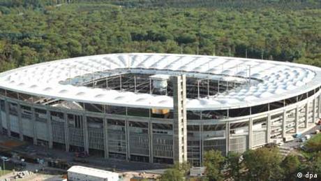 Waldstadion in Frankfurt (dpa)