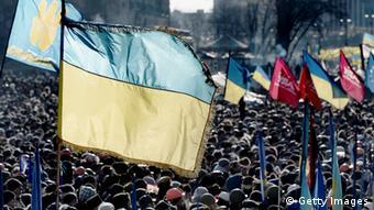 Ukraine - Proteste auf dem Maidan Platz
