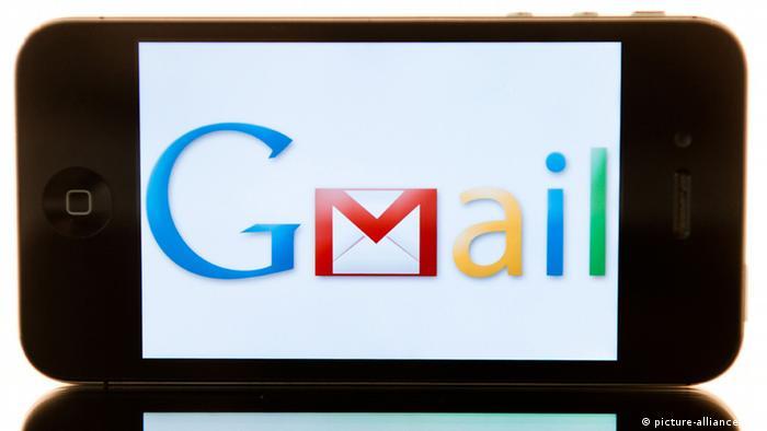 Logo von Google Mail auf einem i-Phone