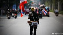 Thailand Protest Demonstranten Anti Regierung Wahl 3.2.14