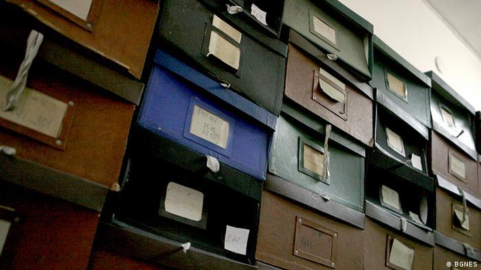 Stasi-Akten in Sofia Bulgarien
