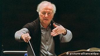 Gerd Albrecht (c) picture-alliance/dpa