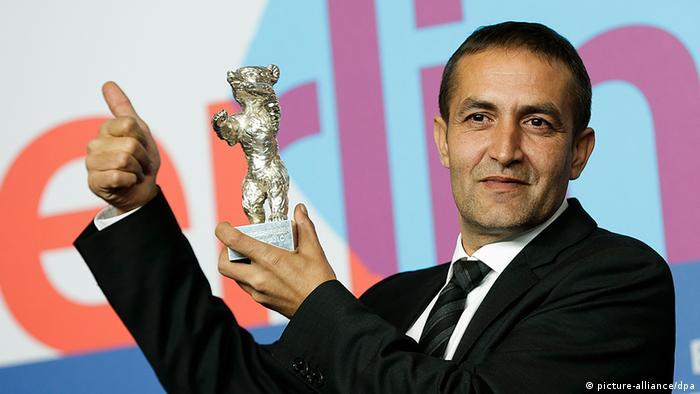 Nazif Mujić sa srebrnim medvjedom 2013. godine.