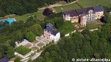Luftaufnahme von Schloss Schwarzburg