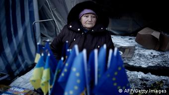 Protests in Kyiv (Photo: ANGELOS TZORTZINIS/AFP/Getty Images)