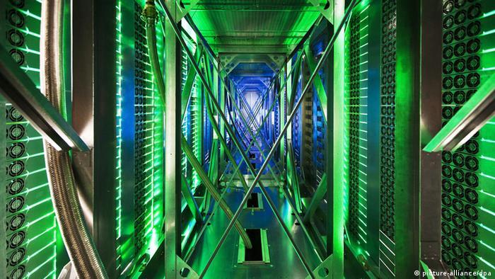 A Google data center in Pryor, Oklahoma