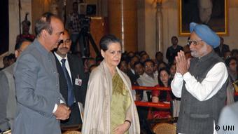 Bharat Ratna Zeremonie Indien