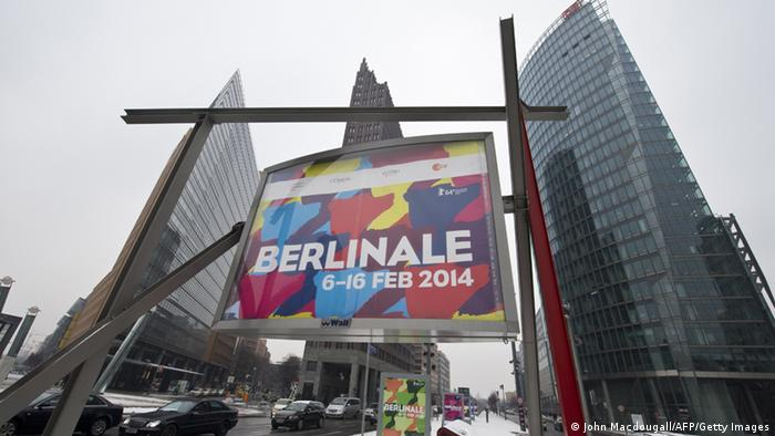 Berlinale 2014 poster, Copyright: John Macdougall/AFP/Getty Images