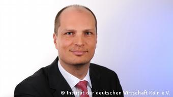 Dominik Enste with the German Economic Institute (IW) in Cologne
