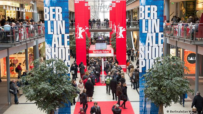 Entry hall of the Berlinale 2014 Photo: Jan Windszus