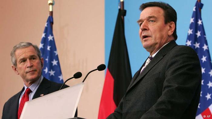 George W. Bush / Gerhard Schröder / 2005