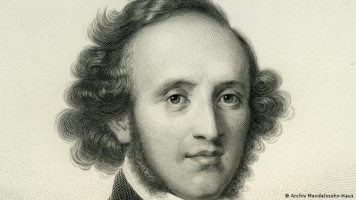 Felix Mendelssohn Bartholdy Porträt