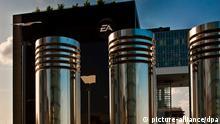 Gebäude der Firma Electronic Arts im Kölner Rheinauhafen