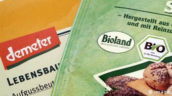 Demeter und Bioland Bio-Siegel