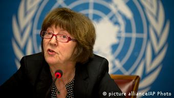 Kirsten Sandberg, chairperson of the U.N. human rights committee on the rights of the child