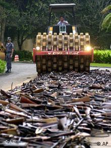 Zerstörung von Schusswaffen in Brasilien