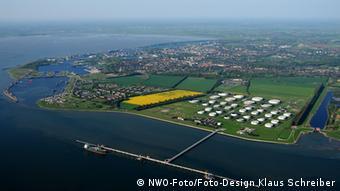 Вид порта Вильгельмсхафен