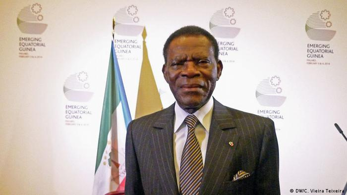 President Teodoro Obiang Nguema Mbasogo of Equatorial Guinea