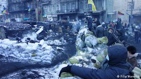 Maidan Proteste in Kiew Ukraine