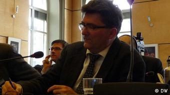 UN-Ausschuss für Kinderrechte:Bindungsforscher Lothar Krappmann (Foto: Claudia Witte/DW)