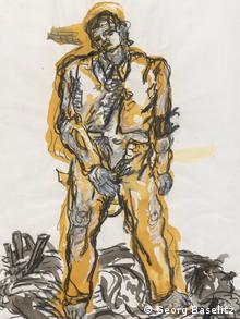Ausstellung deutsche Maler British Museum London Großbritannien Georg Baselitz