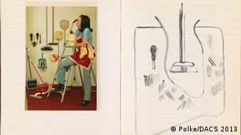 Sigmar Polke: Ohne Titel, 1969 (Rechte: Polke/DACS 2013)