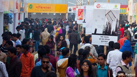 Bangladesch Buchmesse in Dhaka 2014