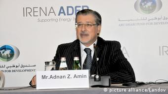 Adnan Z. Amin Porträt IRENA